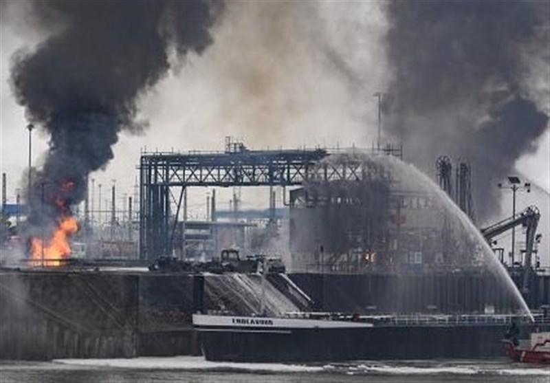 انفجار کارخانه آلمان