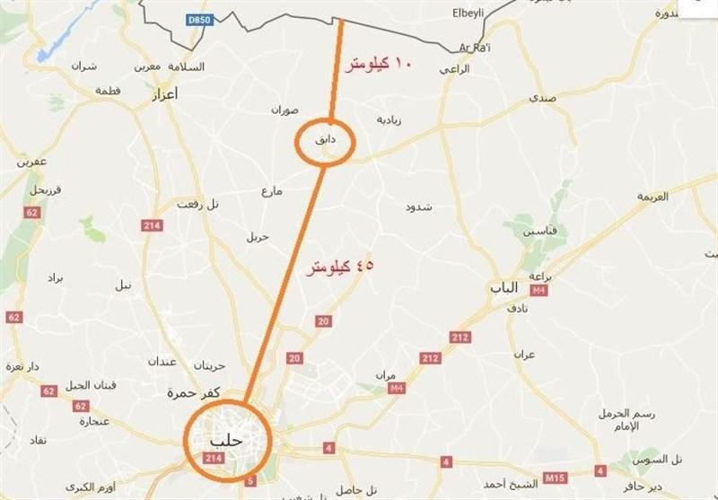 """IŞİD'in """"Dabık'tan"""" Çekilmesinin Sırrı; Savaşmadan Teröristlerin Arasında Elden Ele Geçen Bir Kasaba"""