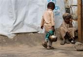 کودکان گرسته یمنی