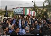 تشییع دوشهید گمنام در کرج