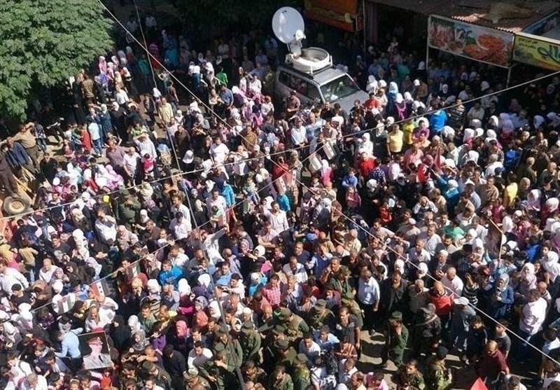 قدسیا تظاهرات مردم حمایت ارتش