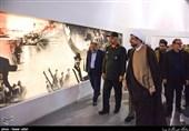 آئین افتتاح تالار پیروزی باغ موزه دفاع مقدس