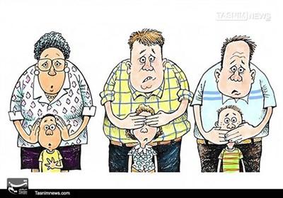 کاریکاتور/ برنامههای غیراخلاقی انتخاباتی آمریکا