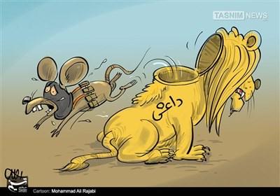 کاریکاتور/ موشی در لباس شیر!!!