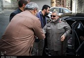 حضور سرلشکر فیروزآبادی در خبرگزاری تسنیم