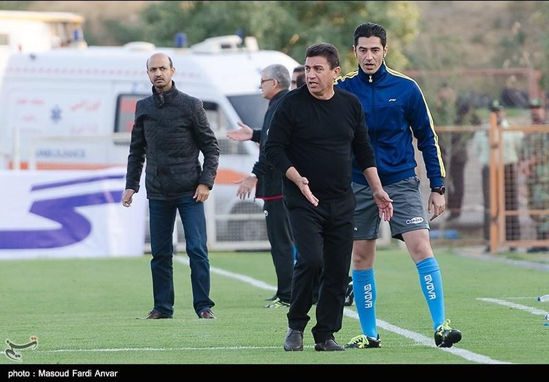 دیدار تیم های فوتبال تراکتورسازی و فولاد خوزستان