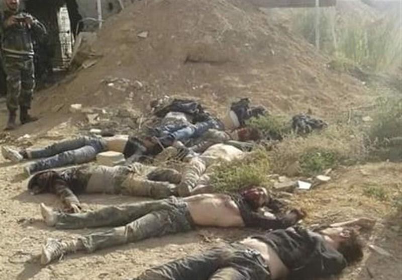 اعتراف تروریستها به کشته شدن 25 عضو آنها در حمله به جنوب غرب حلب