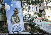 اولین سالگرد شهید مدافع حرم روح الله قربانی