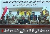 عراقی افواج کا موصل میں داعش کے خلاف آپریشن کی اینفوگرافی