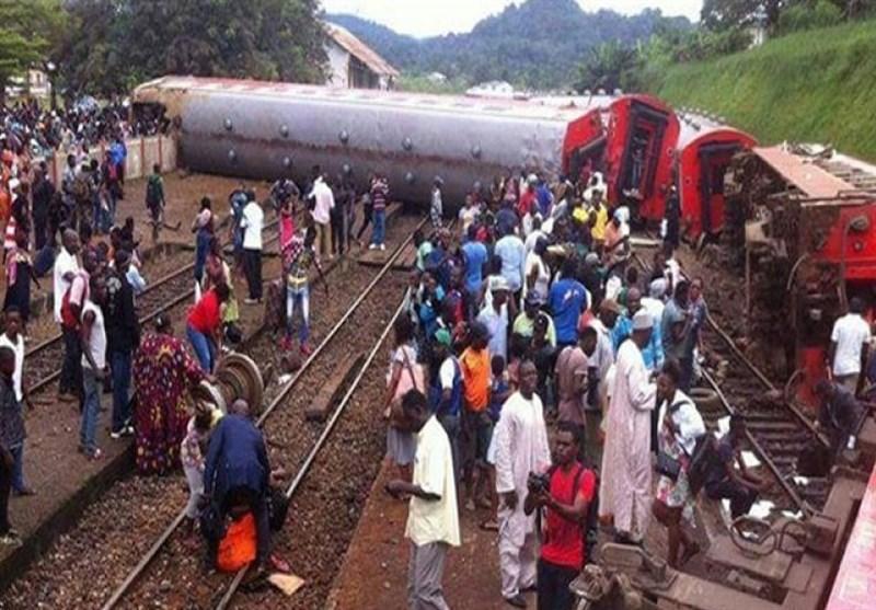 کیمرون میں ٹرین حادثے میں 53 افراد ہلاک، 300 زخمی
