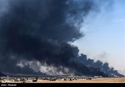 """موصل کے """"آزادی آپریشن"""" کی تصویری جھلکیاں"""
