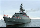 Iranian, Russian Navy Officers Meet in Makhachkala