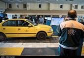 بازدید از مراکز معاینه فنی تاکسی و اتوبوس تهران