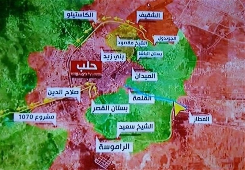 Halep'in Batısında Şiddetli Çatışmalar Yaşanıyor