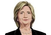 عکس / هیلاری کلینتون در دو قاب
