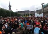 جرمنی میں اشرف غنی کے خلاف افغان تارکین وطن کے مظاہرے