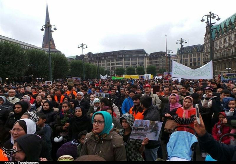 تظاهرات پناهجویان افغان در آلمان2