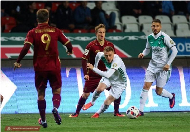 شکست ترک گروژنی در جام حذفی روسیه