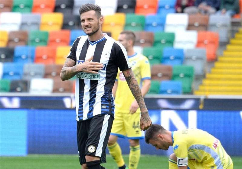 جام حذفی ایتالیا| اودینزه صعود کرد، ساسولو حذف شد