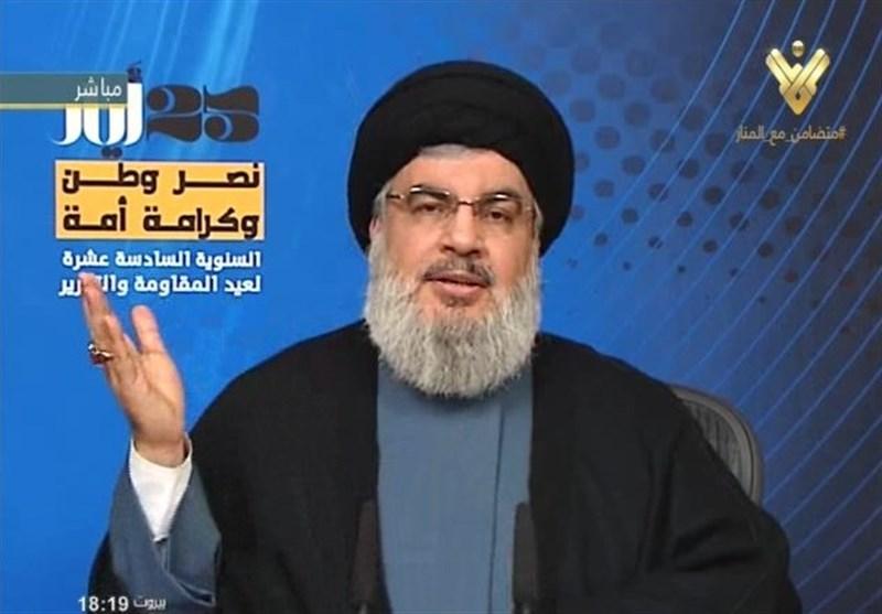 السید نصرالله: الحالة الوحیدة التی تعید حزب الله الى لبنان هی الانتصار فی سوریا