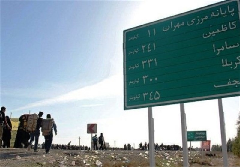 محور شهرستان دهلران بهترین مسیر برای رسیدن زائران اربعین به مرز مهران است