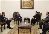 دیدار میشل عون با دبیرکل حزب الله+عکس