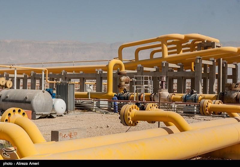 ما هو حجم ارتفاع انتاج الغاز فی ایران؟