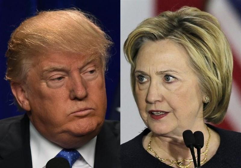 ٹرمپ کی ہیلری پر برتری، 244 بالمقابلہ 215/ جیتنے کے لئے 270 الیکٹورل ووٹ کی ضرورت