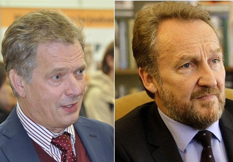 Finnish, Bosnian Presidents in Iran for Talks