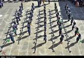 افتتاحیه المپیاد ورزشی دانش آموزان - کردستان