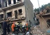 انفجار یک ساختمان در چین با 14 کشته و 150 زخمی + عکس