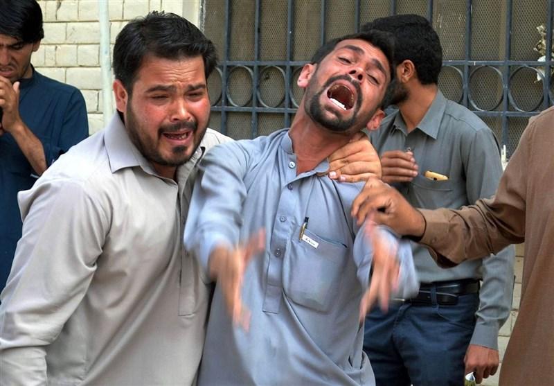 45 کشته و مجروح طی انفجار در زیارتگاه شیعیان بلوچستان پاکستان