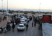 جاده بافق به یزد مسدود شد