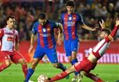 شکست بارسلونا در دربی فینال سوپرجام کاتالونیا