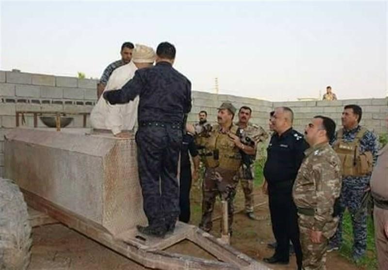 تصاویر/لحظه بازداشت پسر خاله صدام در «تانکر آب»