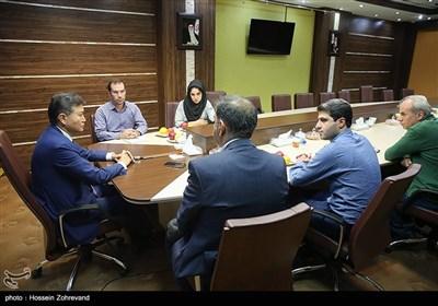 کرسان ایلیومژینوف رئیس فدراسوین جهانی شطرنج در خبرگزاری تسنیم