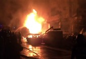 راولپنڈی: آئل ٹینکر حادثے کے نتیجے میں بھڑکنے والی آگ بےقابو/ کروڑوں کی مالیت کا سامان راکھ ہوگیا