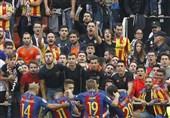 بارسلونا و هواداران والنسیا