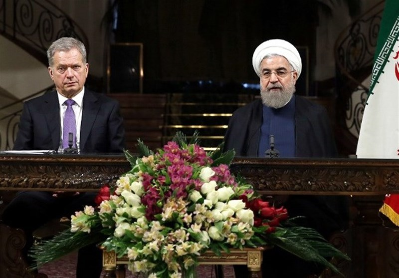 President: Capacities of Iran, Finland Should Be Tapped to Cement Bilateral Ties
