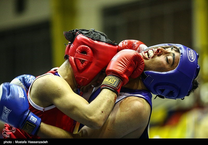 مسابقات بوکس جوانان قهرمانی کشور - گرگان