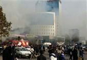 آتش سوزی کفش ملی ساری