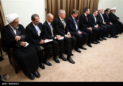 دیدار رئیس جمهور فلاند با رهبر معظم انقلاب