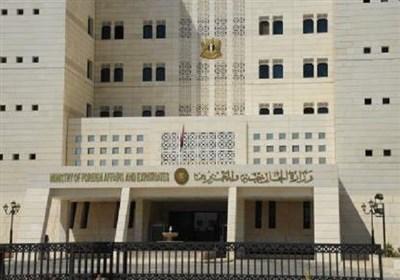 دمشق: برخی مقامات غربی در جنایت تروریست ها علیه ملت سوریه شریکند