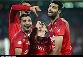 دیدار تیمهای فوتبال پرسپولیس و نفت آبادان