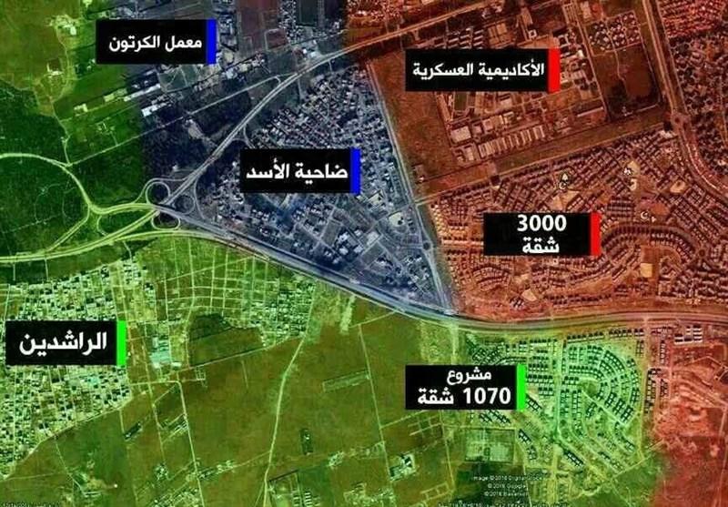 جزئیات درگیریهای شدید 10 ساعته و حمله 5000 تروریست با دهها «انغماسی» به غرب حلب+ فیلم