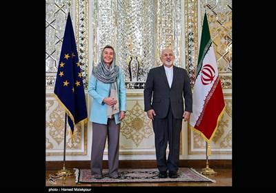 Iran's FM, EU's Mogherini Meet in Tehran, Discuss Syria