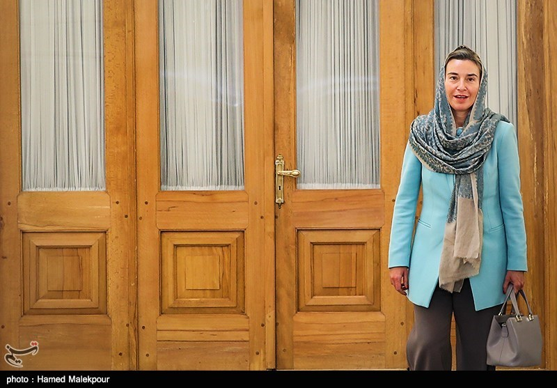 Mogherini in Iran for President Rouhani's 2nd Inauguration