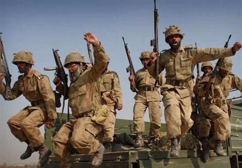 آمادگی ارتش پاکستان در مرز هند