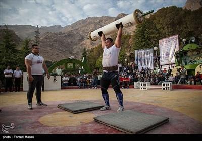 مسابقات قوی ترین مردان ایران - کرمانشاه