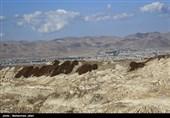 آلودگی زباله های انباشت شده در حومه زنجان
